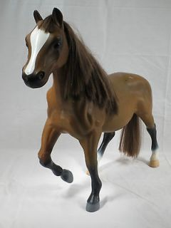 Battat Prancing Dark Brown Quarter Horse for Large Size Fashion Doll