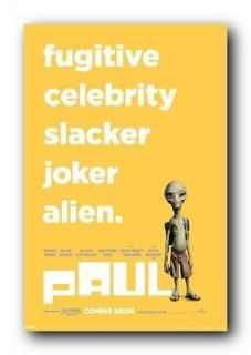Paul Poster Movie Attributes Fugitive Alien PAS0256