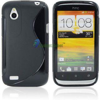 Curve Soft GEL TPU Case Cover Skin For HTC Desire X Proto T328e
