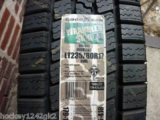 New LT 235 80 17 Goodyear Wrangler SR A 10 Ply Tires