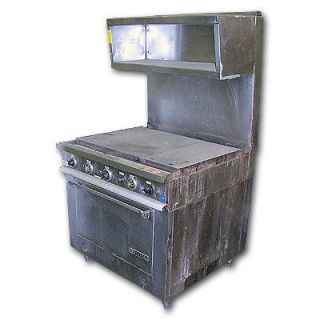 36 electric range in Business & Industrial