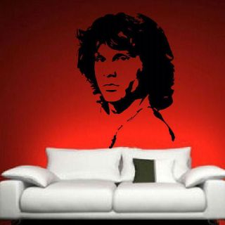 JIM MORRISON LARGE BEDROOM WALL MURAL ART BIG STICKER GRAPHIC DECAL