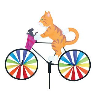 20 KITTY cat bicycle lawn & garden wind spinner Brand New in package