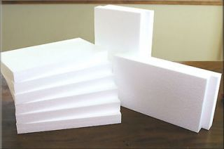 dow craft styrofoam foam sheets 2 x 24 x 48 pack of 2