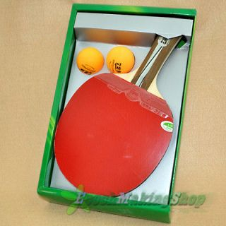 729 2020 Ping Pong Paddle Table Tennis Racket Long handle Professional