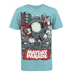 MAYDAY PARADE dream wasted on you Soft Fit T SHIRT NEW S M L XL