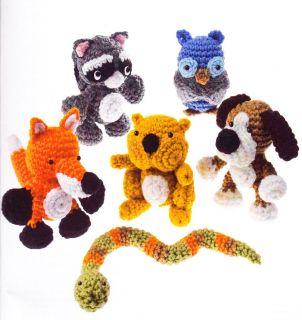Snips & Snails Amigurumi   fun crochet pattern for kids