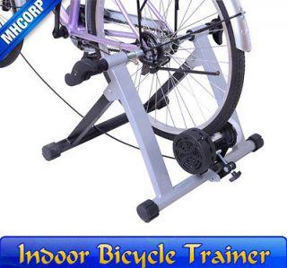 New Adjustment Sliver Mag Bicycle Bike Trainer Stand Indoor Kinetic