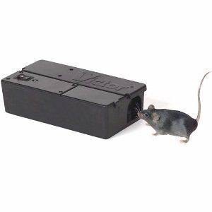 Safe Electronic Mouse Trap Zapper Rodent Control Easy to Use Built in