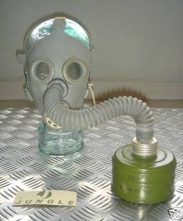 Genuine Baby / Childs Gas Mask with Cannister & Bag NEW