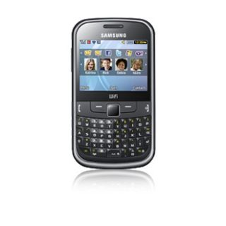Brand New Samsung Chat 335 QWERTY Mobile Phone Unlocked Wi Fi Camera