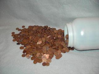 Copper Lincoln Pennies 95% Copper Wheat 20 Pounds Copper Bullion Bug