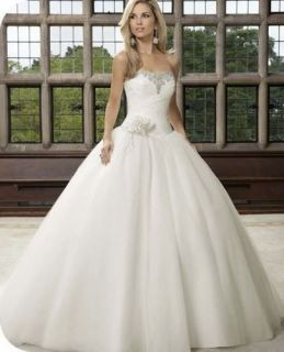 tulle bridal Gown Prom Wedding dress or petticoat SZ 8 10 12 14 16