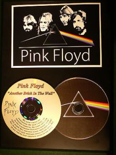 Pink Floyd THE WALL Rare Picture Disc & Etched Gold Lyric CD Gift