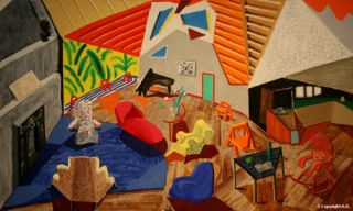 FANTASTIC MODERN ART SELECTION  PICASSO HOCKNEY KLIMT ROCKWELL ETC