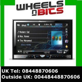 Pioneer AVH 3400DVD 2 Din 7 screen CD DVD Car Stereo USB iPod/iPhone
