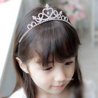 New Princess Prom Wedding Party Crystal Hair Band Headband Tiara Crown