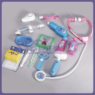 ROLE PLAY & Education TOY MEDICAL KIT DOCTOR NURSE PRETEND GAME GIFT