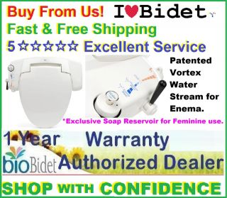 Bio Bidet BB i3000 Bidet Toilt Seat *Authorized Dealer*