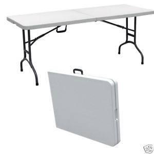 plastic folding table in Home & Garden