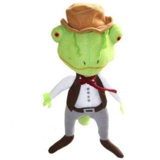 RANGO Figure Johnny Depp Soft Plush Toy Lizard Doll Sheltered