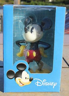 Disney Mickey Mouse Figurine Plastic Vinyl 5 1/2  Tall
