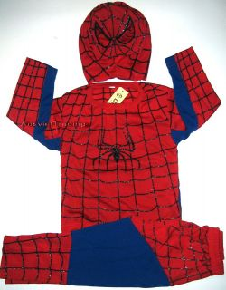 Brandnew Spiderman Costume 3pc Dress up Pretend Play with Mask BNWT