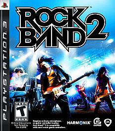 Rock Band 2 (Sony Playstation 3, 2008)*GAME ONLY*