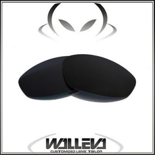 New WL Polarized Process Black Replacement Lenses For Oakley Whisker