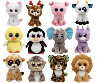 TY BEANIE BOOS BOO BUDDY ~ CHOOSE YOUR 10 CHARACTER SOFT PLUSH TOY