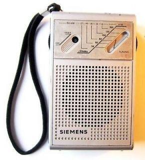 Vintage Siemens Pocket Radio Still Working #286