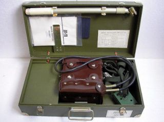 VINTAGE USSR RUSSIAN MILITARY RADIOMETER GEIGER COUNTER DETECTOR DP 5B