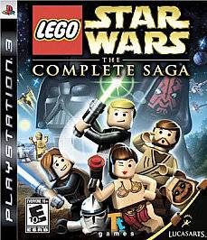 LEGO Star Wars The Complete Saga   Sony Playstation 3 Game