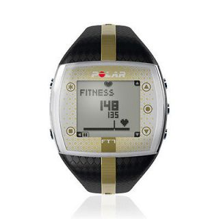 Polar FT7 Black/Gold Heart Rate Monitor Watch 90039171