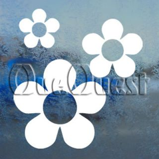 HIPPI FLOWER DAISY Decal HAWAII BEACH Window Sticker