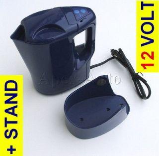 12v Kettle Car Van Portable Travel Hot Water Heater Tea Coffee + ITS