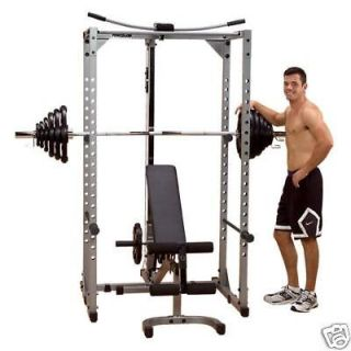 Body Solid Powerline Power Rack Optional Lat Attachment