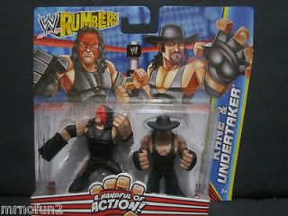 WWE rumblers KANE and & UNDERTAKER wrestling figures 2 pack