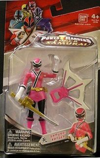 pink power ranger samurai in TV, Movie & Video Games