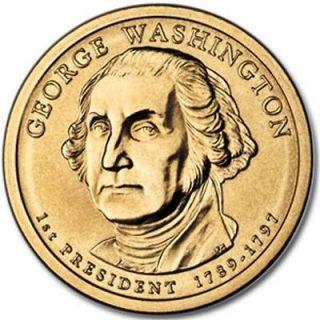 Mint GEORGE WASHINGTON Dollar BU   ** NO SCRATCHES ** (1 Coin