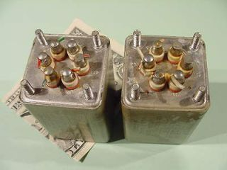 Sylvania matched pair 26865 OUTPUT TRANSFORMER for tube amp project