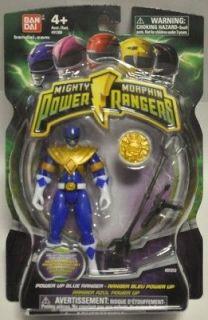 MIGHTY MORPHIN POWER RANGERS 2010 POWER UP BLUE RANGER