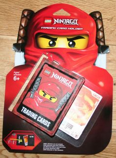 LEGO NINJAGO NINJA TRADING CARD WALLET HOLDER