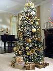 ARTIFICIAL PRE LIT CHRISTMAS TREE SLIM TREE 7 5 FT