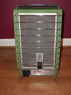 Coleman Portable Heater 2000 5000 BTU Catalytic Heater 1970s Works