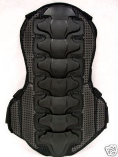 BACK PROTECTOR Body Spine Molded Riding Armor MX Sport Bike ~L/Large