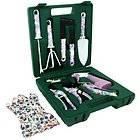 Garden Tool Kit ladies gloves pruning shears cutter yard xmas Gift Set