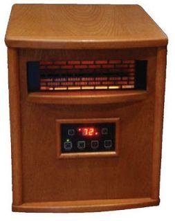 LS 500 1WP 1500W Infrared Quartz Electric Heater Portable 750 sq.ft