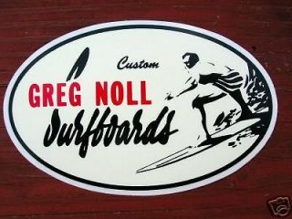 surfboard decal surfing surfer sticker decal longboard classic surf
