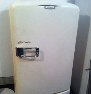 Vintage 1950s Crosley Shelvador Working Refrigerator